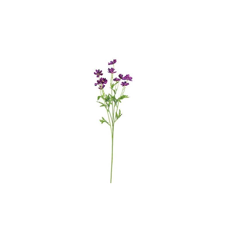 """silk flower arrangements allstate 27"""" violet mini cosmos flower artificial floral spray"""