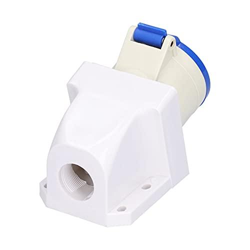 Gaeirt Zócalo de Conector Industrial, Resistencia al Calor del Conector de alimentación Industrial para Conector de alimentación monofásico
