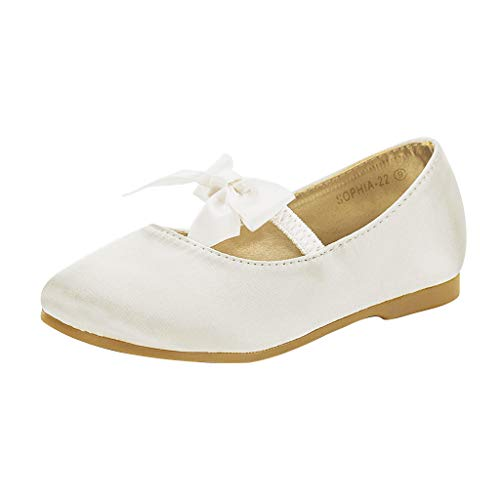Top 10 best selling list for ivory flat shoes with bow