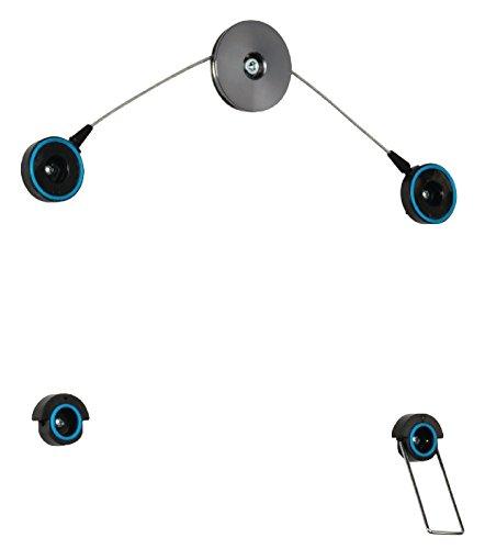Valueline VLM-LCLED10 TV-Wandhalterung ultraflach für 106,6-152,4 cm (42-60 Zoll) Fernseher (fix, max. 25kg)