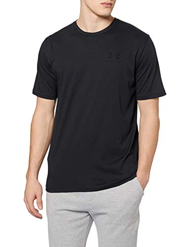 Under Armour Herren SPORTSTYLE LEFT CHEST SS Komfortables T-shirt, Schwarz (Black/001), Large