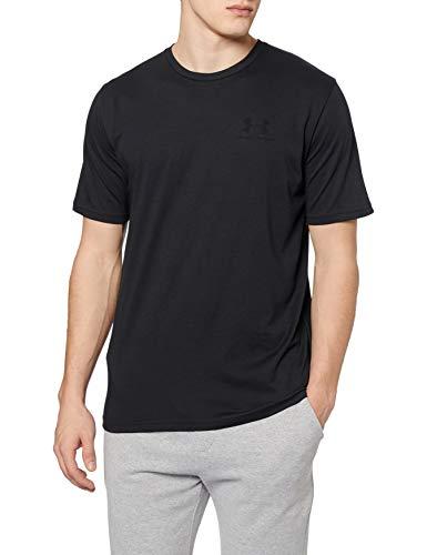 Under Armour Herren SPORTSTYLE LEFT CHEST SS Komfortables T-shirt, Schwarz (Black/001), Medium