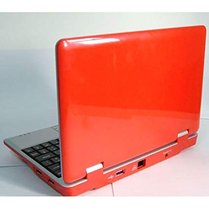 NEW 4Gb 7 inch Red Mini Laptop Netbook. Android 2.2. Latest Software. Latest build.