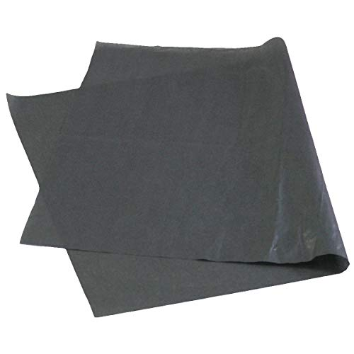 アースダンボール 緩衝材 ラッピングペーパー 薄葉紙 包装紙 1000枚入り ブラック 【1091×788mm】【1127】