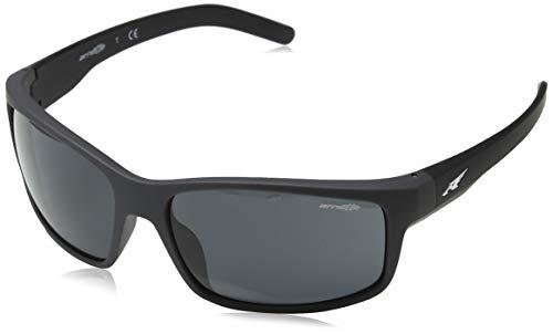 Arnette heren 0AN4242 41/87 62 zonnebril, zwart (zwart/grijs),