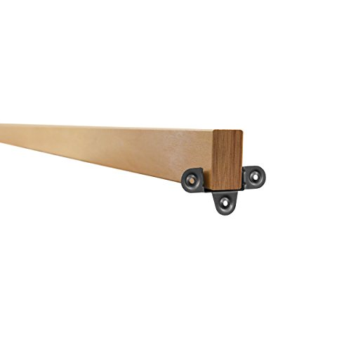 Heavy Duty Beech Bed Central Support Rail/Beam 34mm x 60mm x 2100mm