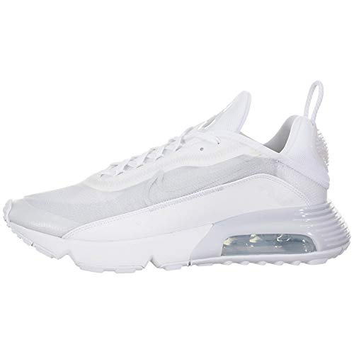 Nike Herren AIR MAX 2090 Laufschuh, White/White-Wolf Grey-Pure Platinum-Reflect Silver, 47.5 EU