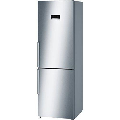 Bosch Serie 4 KGN36XI35 nevera y congelador Independiente Acero inoxidable 324 L A++ - Frigorífico (324 L, SN-T, 14 kg/24h, A++, Compartimiento de zona fresca, Acero inoxidable)