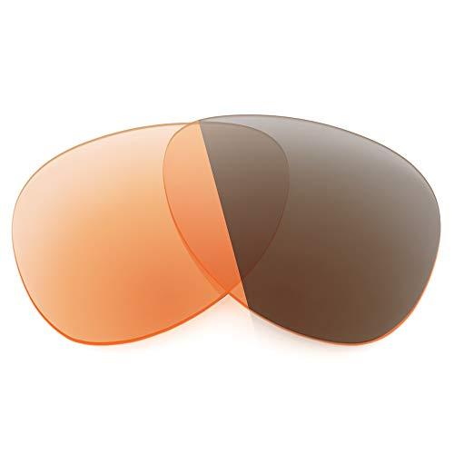Revant Lentes de Repuesto Compatibles con Gafas de Sol Costa Cook, No Polarizados, Naranja Fotocromático
