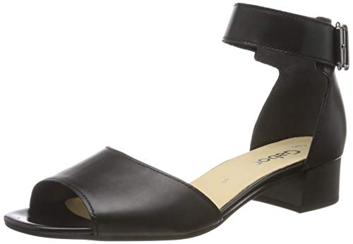 Gabor Shoes Damen Gabor Fashion Riemchensandalen, Schwarz 27), 41 EU