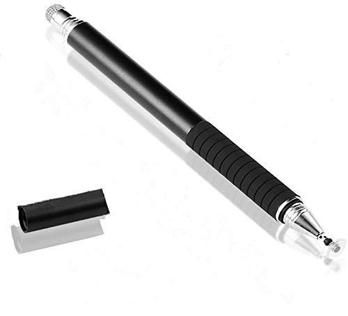 Ausein Pen Touch Stylus, Lápiz Capacitivo, Stylus Universal 2 en 1 Stylus Touch Pluma para Todos Los Teléfonos Celulares Capacitivos, Tabletas, Samsung, iPhone, iPad,Huawei (Negro)
