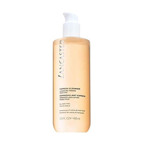 LANCASTER Express Cleanser, 3in1, Gesichtsreinigungswasser, Augen-Make-up-Entferner, alle Hauttypen, 400 ml