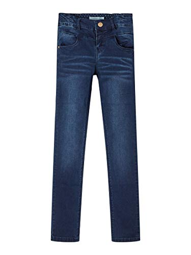 NAME IT Girl Jeans Skinny Fit 152Dark Blue Denim