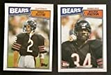 1987 Topps Chicago Bears Complete 21 Card Team Set Includes Walter Payton, Doug Flutie Rookie Card, and Jim Mcmahon Shipped in an Acrylic Case. rookie card picture