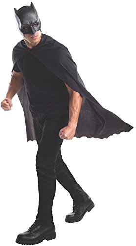Rubie's mens Batman V Superman: Dawn of Justice Batman Cape With Mask Adult Sized Costume