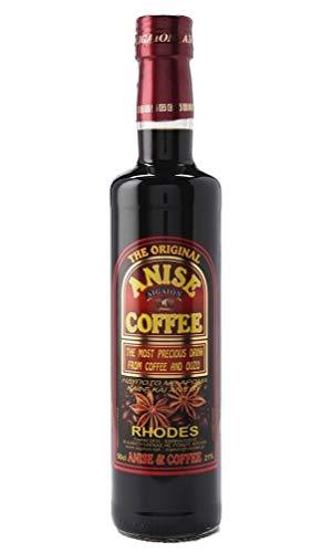 Kaffee Ouzo Likör 0,5l 21% | Das Original von Rhodos | Coffee Anise Aigaion
