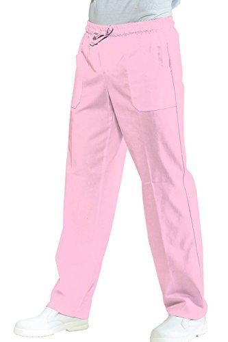 Robinson werkbroek unisex roze