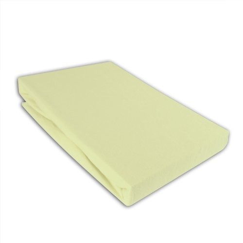 I.C.S. Kinder Jersey Spannbettlaken 70x140cm Bettlaken für Kinderbett Grün