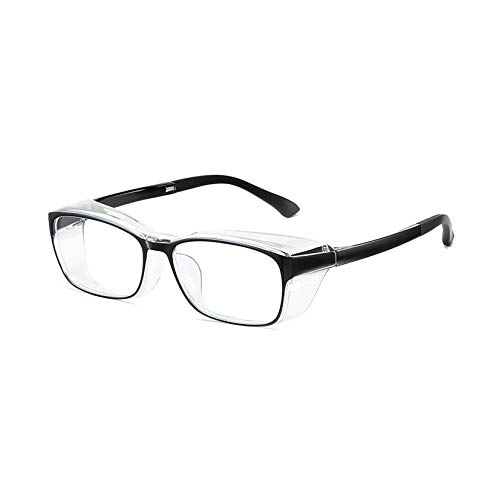 LORIEL Anti Blaulicht Computer Brille, Komplett Geschlossene Schutzbrille, Schlafen Besser, Reduzieren Von Augenstamm, Anti-Augen-Computer-Gaming-Gläser,C
