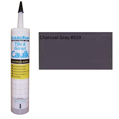 TEC Color Matched Caulk by Colorfast - Unsanded - 929 Charcoal Gray