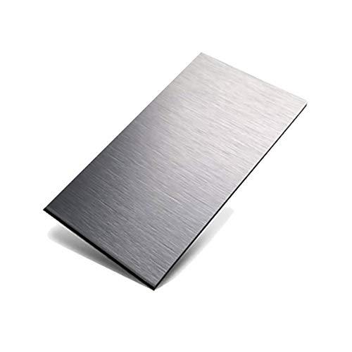LEISHENT 6 Uds Chapa De Aluminio 100X200x0.8Mm