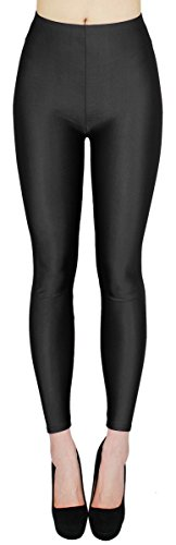 dy_mode Glanz Leggings Damen bunt viele Farben Tanz Leggings glänzende Leggins Shiny One Size - JL116 (One Size - geeigent für Gr. 36-38,...