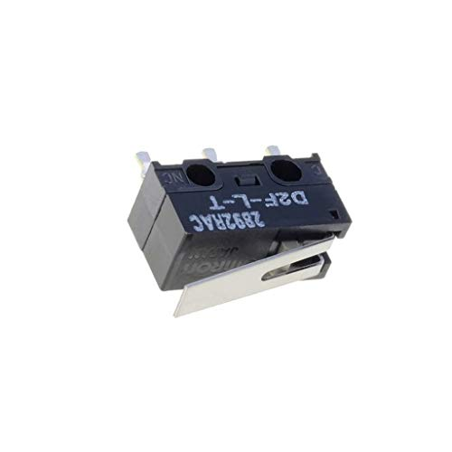 D2F-L-T Microswitch with lever SPDT 3A/125VAC 2A/30VDC ON-ON IP40 OMRON