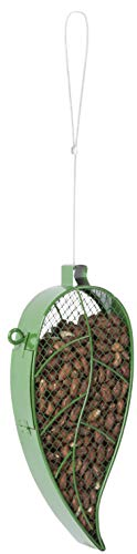 Fallen Fruits Mangeoire à Oiseaux en Forme de Feuille Vert