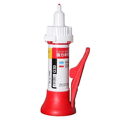 MOVKZACV Pegamento de reparación de zapatos de 20 ml para fijar suelas selladores de tela para la fijación de zapatos o botas desgastadas
