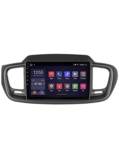 Radio de coche Android 8.1, GPS, pantalla táctil de 9 pulgadas, estéreo, TV, para Kia Carens 2007 – 2011, con control en el volante, Bluetooth, manos libres, enlace DAB USB, MP5 SWC, 4G + WIFI1G + 16G