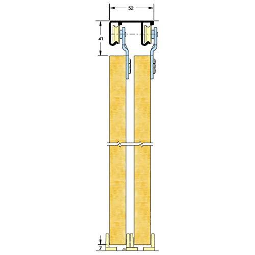 ASEC - Armario corredizo, Doble Engranaje, hasta 2400 mm