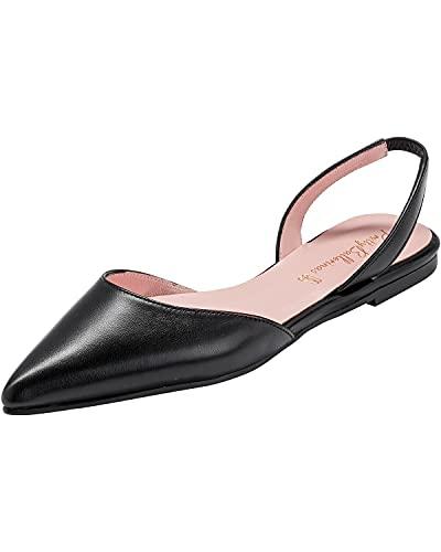 Pretty Ballerinas Ballerines Sling en coton. - Noir - Noir , 41 EU