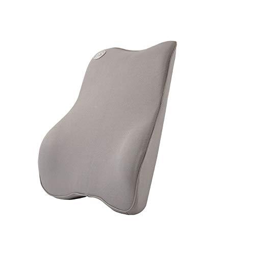 Ecloud Shop® Lumbar steunkussen voor auto en hoofdsteun nek kussen kit - Ergonomisch ontwerp universele pasvorm grote auto stoel