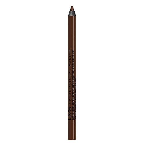NYX PROFESSIONAL MAKEUP Slide On Pencil, Waterproof Eyeliner Pencil, Brown Perfection