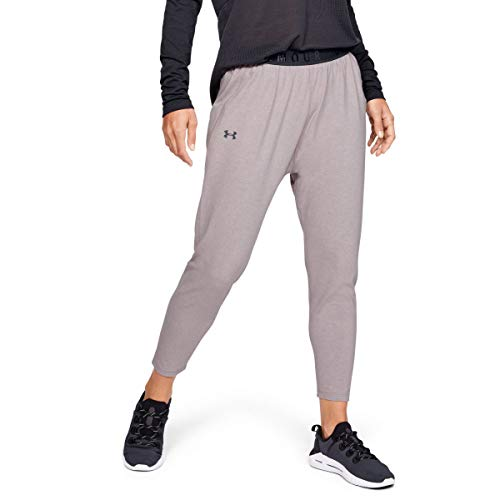 Under Armour Favorite Tapered Slouch Pantalon Femme, Gris, S