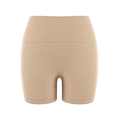 NEWMO Shapewear Shorts Tummy Control Panties High Waisted Body Shaper Trainer Thigh Slimmer for Women Orange