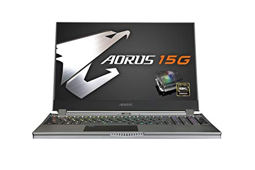Image result for Gigabyte Aorus 15G gaming laptop review: Chunky but funky
