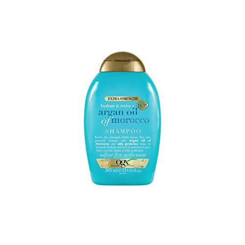 OGX Extra Strength Hydrate & Revive + Argan Oil of Morocco Shampoo, 385 ml