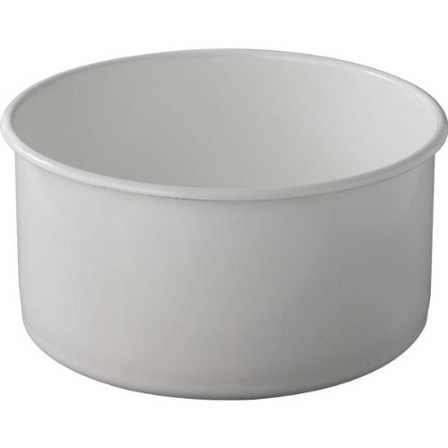 野田琺瑯 ホワイト シリーズ 丸型 洗い桶 WA-Pの写真