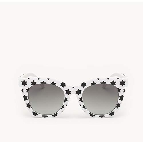 Gafas de Sol Sunglasses Gafas De Sol Polarizadas De Diseñador para Mujer, Gafas De Espejo Marco Grande Retro, Gafas De Sol para Mujer, Gafas De Sol para Anti-UV