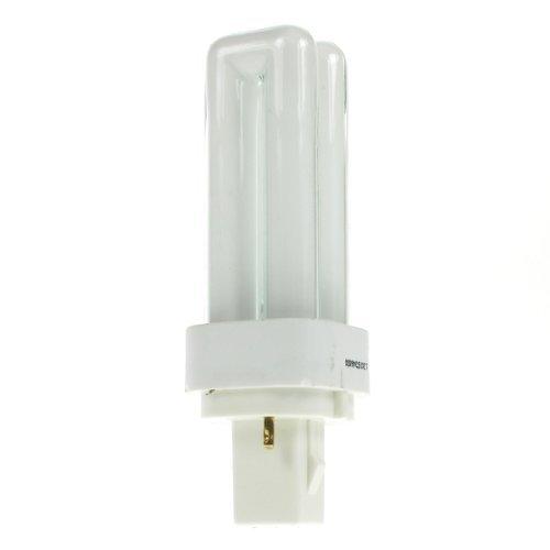 Preisvergleich Produktbild 10 x Osram Dulux-D 10w / 827 energiesparend 2-PIN - Extra Warmweiß - G24d-1 Fassung (PLC / BIAX D / LYNX D / DULUX D)
