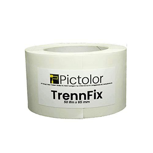 Trennfix 50mm x 50m PROFI Trennfugenband Anschlussfugen Trenn-Fix Trennstreifen