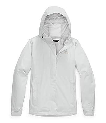 The North Face Women's Venture 2 Waterproof Hooded Rain Jacket, Tin Grey, M