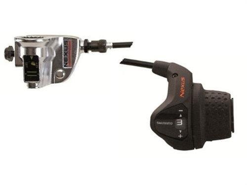 Fahrrad SHIMANO Nexus Drehgriffschalthebel 3-Gg mit Clickbox SL-3S41E
