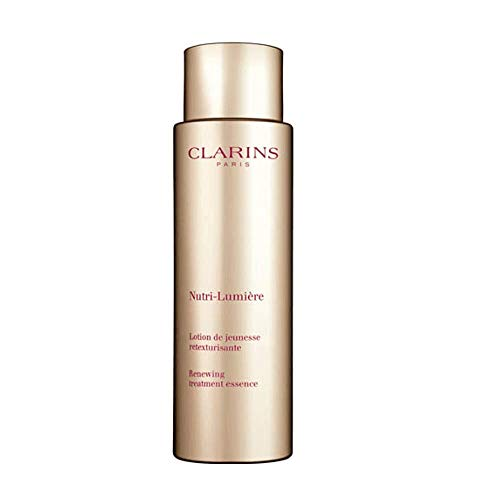 Clarins Unisex TRATAMIENTO LOCION NUTRI-Lumiere BEHANDLUNG Essence Lotion 200ML, Negro, 200 ML