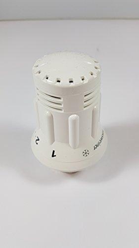 Thermostatkopf Heizung Regler startec 2 M30x1,5 Rossweiner weiß mit Nullstellung