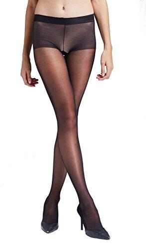 Gatta Nasty Hipster - 15den - elegante Hüftstrumpfhose für Miniröcke - Größe 4-L - Nero-schwarz