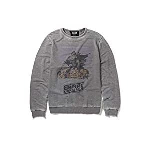 Recovered Star Wars Empire Strikes Back Poster - Sudadera, Color Gris 5