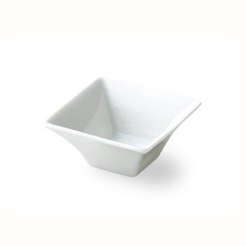 スクエア(角皿) 7cm四角ボール 白