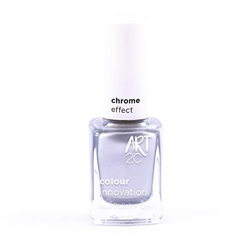 Art 2C Angel Delight - Nagellack mit Chrom-Effekt - 6 Farben, 12 ml, Farbe: CH03